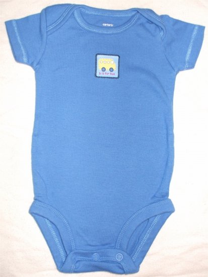 Carter's one piece onesie nb newborn shirt bodysuit    001110
