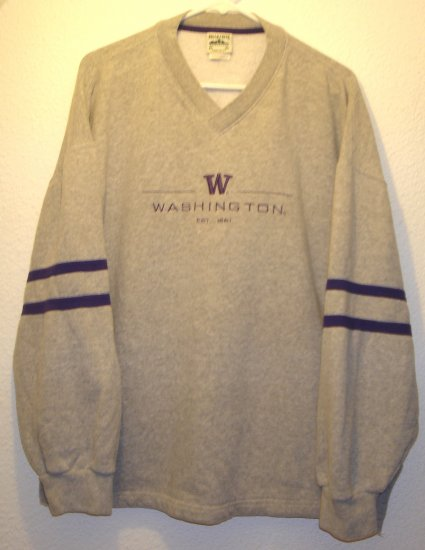 Washington Huskies sweatshirt sz XL Xlarge 00008