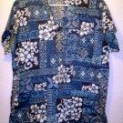 Creations by Kanani made in hawaii scrub top shirt sz Medium   00038
