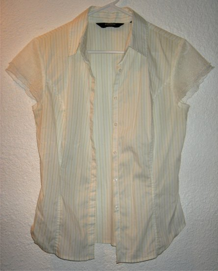 Express stretch shirt sz 7/8 00063