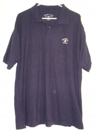 Beverly Hills Polo Club shirt sz Large 00140