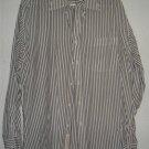 Nordstrom button front shirt sz 16 34 00208