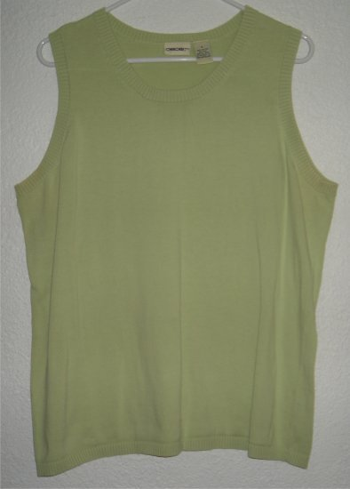 Cherokee tank top shirt sz 1X X 00230