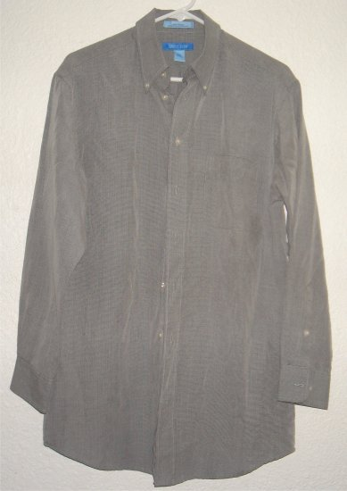 Savile Row button front shirt sz Medium 15-1/2 32/33 00238