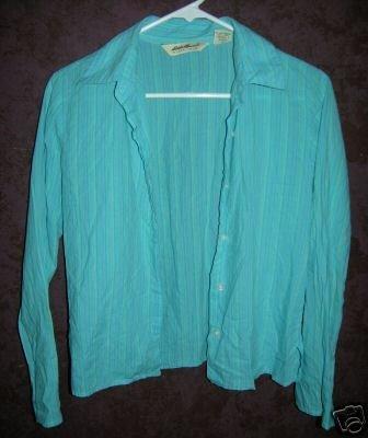 Eddie Bauer button front shirt sz XS 00315