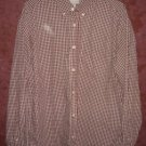 Old Navy Collection button front shirt mens sz Large 00399