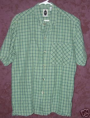 Bugle Boy button front shirt sz Small 00471