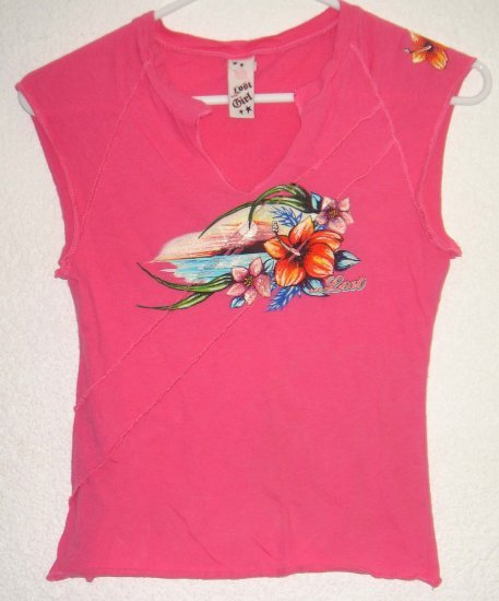 LOST Girl shirt Medium juniors 00540