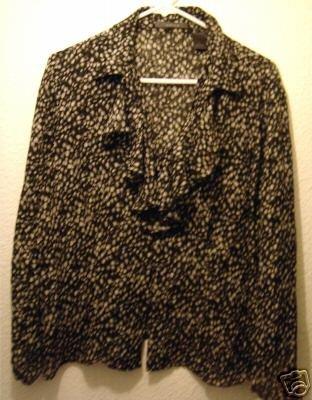 Liz Claiborne shirt sz 12 womens 00575