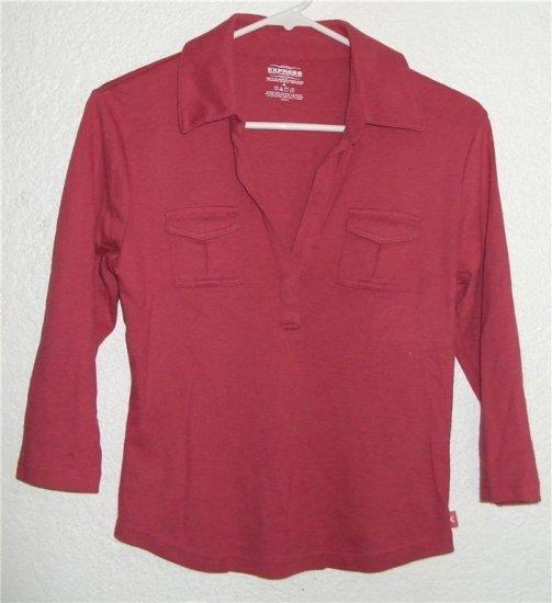 EXPRESS shirt sz Medium womens 00596