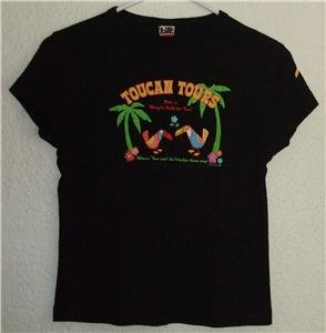 Tilt shirt sz Medium toucan juniors 00623