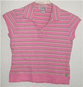 Abercrombie & Fitch polo style shirt sz Large 00822