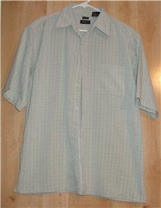 George button front shirt sz Medium Sueded 00934