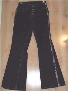 FUBU Sports denim jeans sz 3/4 juniors 00939