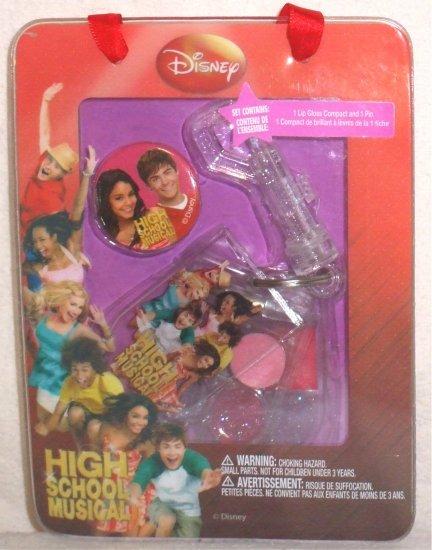 Disney High School Musical Lip Gloss keychain & pin NEW 001055