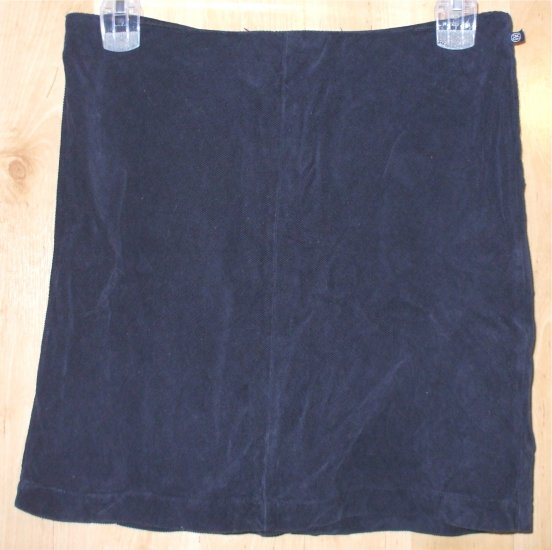Stussy skirt blue corduroy sz 9 juniors surf skate   001254
