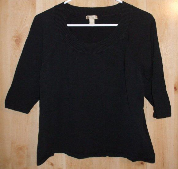 Nordstrom Encore shirt sz 0X Italy womens   001268