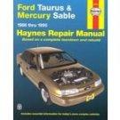 Haynes Ford Taurus & Mercury Sable 86-95 Repair Manual   001312