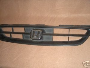 1998-2002 Honda Accord Coupe GRILL OEM w/emblem no paint