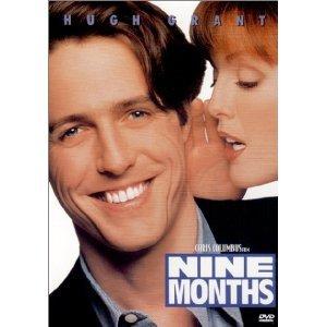 Nine Months DVD Hugh Grant Julianne Moore Tom Arnold Robin Williams Joan Cusack Jeff Goldblum