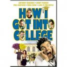 How I Got Into College DVD Anthony Edwards Corey Parker Phil Hartman Nora Dunn Lara Flynn Boyle