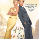How To Lose a Guy in 10 Days DVD Kate Hudson Matthew McConaughey