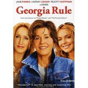 Georgia Rule DVD Jane Fonda Lindsay Lohan Felicity Huffman