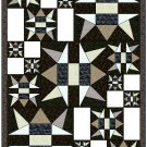 "Asteroid Central Twin Quilt 52"" x 76"" design for EQ6 - No Shipping Charge"