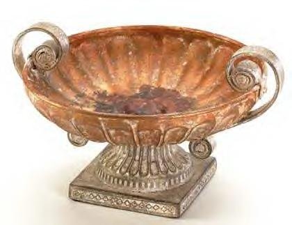 Antique Rose Footed Compote