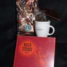 Starbucks 35th Anniversary Rock Steady CD, Mini Mug NEW