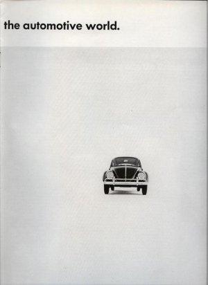 1963 Volkswagen 3 ideas Automotive Doodle Bug VW Car AD