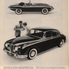 Vintage 1961 Jaguar XK-E vs Jaguar 3.8 Sedan Car AD