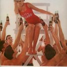 Vintage 1963 Girl Lifeguard Coca Cola Soda Coke AD