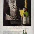 Vintage 1968 Moet Chandon Champagne AD