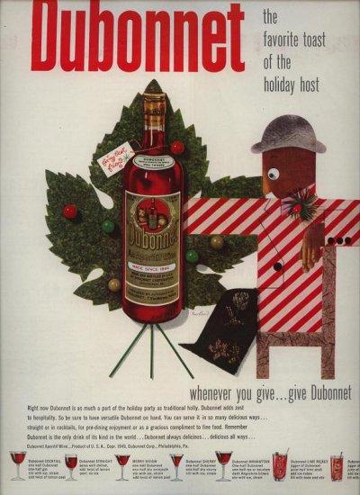 Vintage 1949 Dubonnet Wine  Paul Rand AD