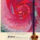 Vintage 1945 Matchabelli Stradivari Perfume Henriette Reiss AD