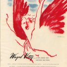 Vintage 1945 Elizabeth Arden Winged Victory Lipstick Art AD