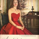 Vintage 1947 Mrs Bertrand L Taylor III of NY Coro Jewelry AD