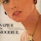 Vintage 1975 Napier Necklace Jewelry Print AD