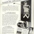 Vintage 1928 P Haver Victor Varconi Franklin Sweater Mills AD
