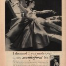 Vintage 1958 I dreamed Made over Maidenform Bra AD