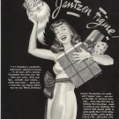 Vintage 1941 Jantzen Undergarment Santa Claus Hawley Art AD