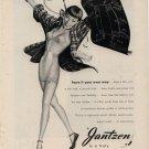 Vintage 1946 Jantzen Lingerie undergarment Blueprint AD