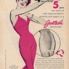 Vintage 1955 Jantzen Girdle Art AD