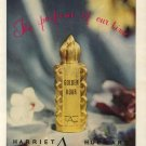 Vintage 1945 Harriet Hubbard Golden Hour Perfume Ad
