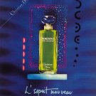 1985 Christian Dior Paris Dioressence Perfume AD