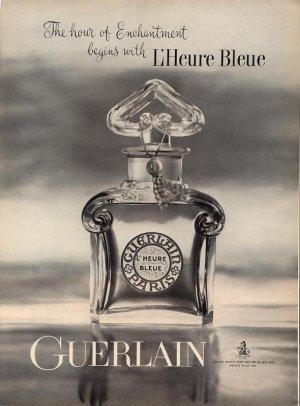 Vintage 1961 Guerlain Paris Perfume AD