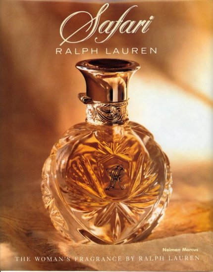 1992 Ralph Lauren Safari Perfume or Cologne AD