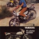 Vintage 1969 Yamaha 125 Single Enduro AT-1 motorcyle AD