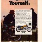 Vintage 1969 Suzuki T-500 2 Titan Motorcycle AD